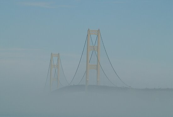 Rising Up Above the Fog by BarbL