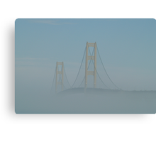 Rising Up Above the Fog Canvas Print