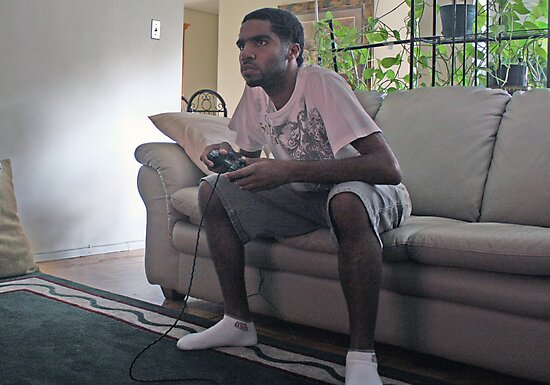 Gamer With P2 Controller  by FoodMaster