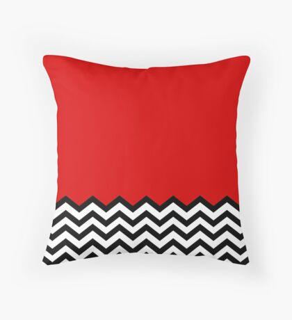Black Lodge Dreams Throw Pillow