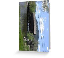 Stallion Springs Bridge Greeting Card