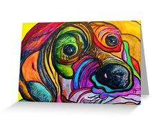 You Ain't Nothing but a Hound Dog Greeting Card