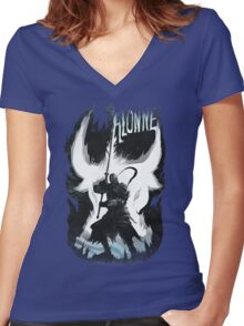 Sir Alonne Women's Fitted V-Neck T-Shirt