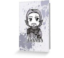 Sketch Aramis Greeting Card