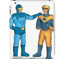 Booster Gold and Blue Beetle iPad Case/Skin