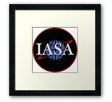 IASA Insignia - Farscape  Framed Print