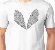 Black Cicada Wings Unisex T-Shirt