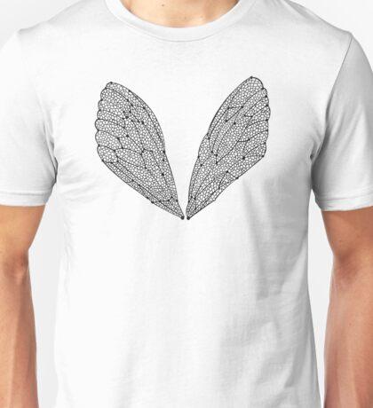 Black Cicada Wings Unisex T-Shirt