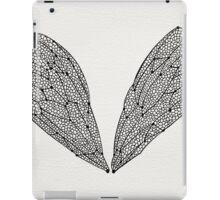 Black Cicada Wings iPad Case/Skin