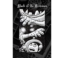 Attack of the Moon Man Photographic Print