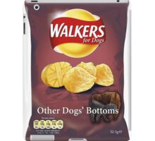 Walkers for Dogs - Other Dogs' Bottoms flavour iPad Case/Skin