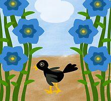 Crow Crossing by elledeegee