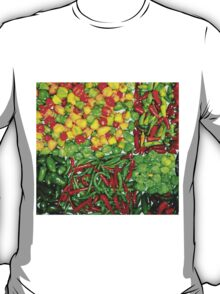 Many Peppers Two T-Shirt