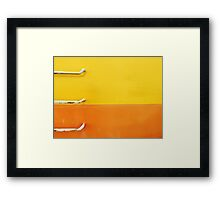 Ship's ladder Framed Print