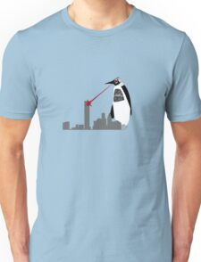 Robopenguin on the Rampage Unisex T-Shirt
