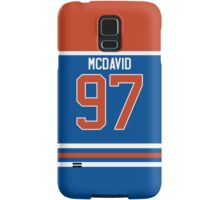Oilers Conner McDavid Jersey Samsung Galaxy Case/Skin