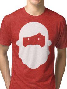 Christmas Beardy Boy! Tri-blend T-Shirt