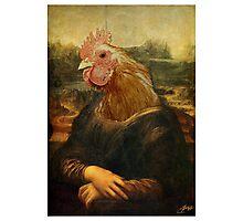 Mona Chicken Photographic Print