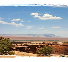 South Rim - Canyon de Chelly by lbhphotography