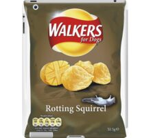 Walkers for Dogs - Rotting Squirrel flavour iPad Case/Skin