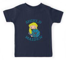 shieldmaiden doodle Kids Tee