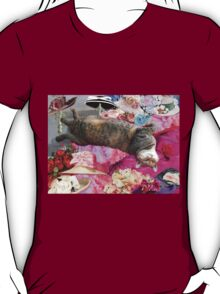 Dilemma of Princess Tatus Cat T-Shirt