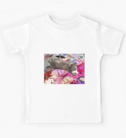 Dilemma of Princess Tatus Cat Kids Tee