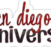 San Diego State Two Tone Sticker