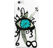 Moment notebook - time iPhone Case/Skin