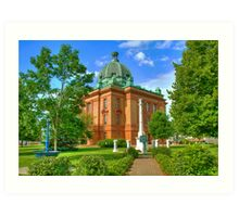 Grant County Courthouse Art Print