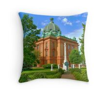 Grant County Courthouse Throw Pillow