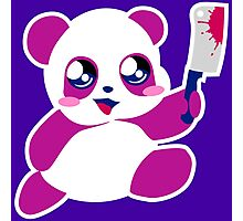 kawaii panda will KILL YOU!  Photographic Print