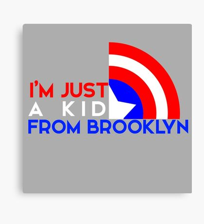 Just a Kid From Brooklyn Canvas Print