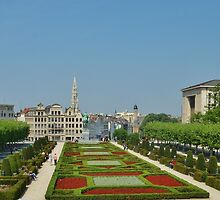 Mont Des Arts - Brussels by clarebearhh