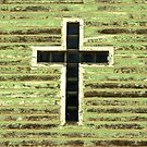 cross on church by Lynne Prestebak