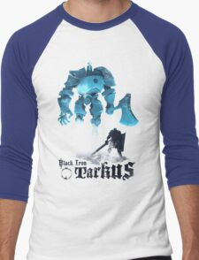Black Iron Tarkus Men's Baseball ¾ T-Shirt