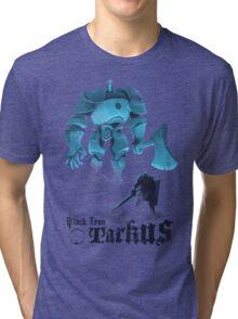 Black Iron Tarkus Tri-blend T-Shirt