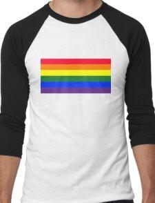Rainbow flag Men's Baseball ¾ T-Shirt