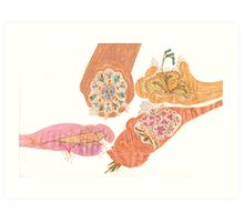 Four Seasons Art Print