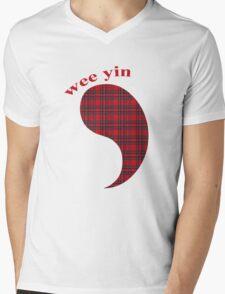 Wee Scot T Shirt Mens V-Neck T-Shirt