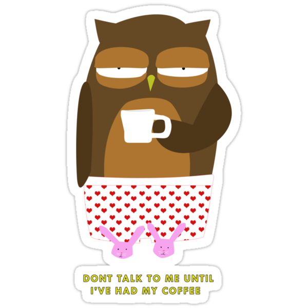 Coffee Owl by surlana