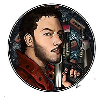 Star Lord/Peter Quill Photographic Print