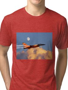 F-16 Solo Display Team Tri-blend T-Shirt