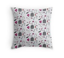 A Creepy Cute Halloween Throw Pillow