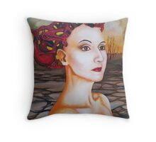 The complex mind. Throw Pillow