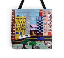 Children's NYC Wall #2a Tote Bag