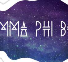 Gamma Phi Beta Galaxy Sticker