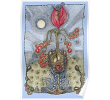 Floribunda Lachrymosa Poster