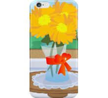 Flowers by a Window iPhone Case/Skin