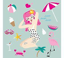 Summer Lovin' Photographic Print